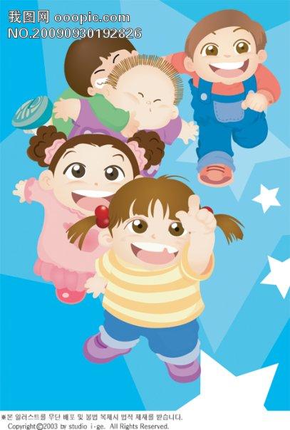 韩国卡通小孩112