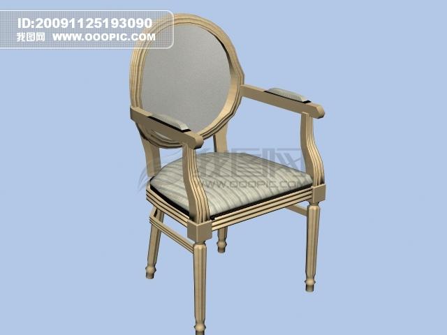 3d欧式靠椅图片下载 欧式靠椅