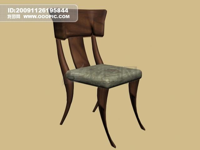 vip素材 最新vip素材 矢量图 建筑家居 >3d简约椅子  [max] 3d简约