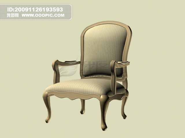 vip素材 最新vip素材 矢量图 建筑家居 >3d欧式简约靠椅  [max] 3d
