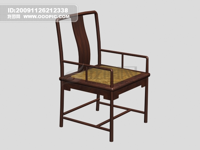 vip素材 最新vip素材 矢量图 建筑家居 >3d古朴椅子  [max] 3d古朴