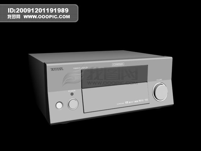 3d音响功放机模板下载(图片编号:774951)