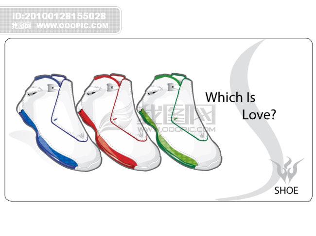 运动鞋海报图片下载 运动鞋海报