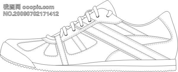 画鞋子图片手绘图片