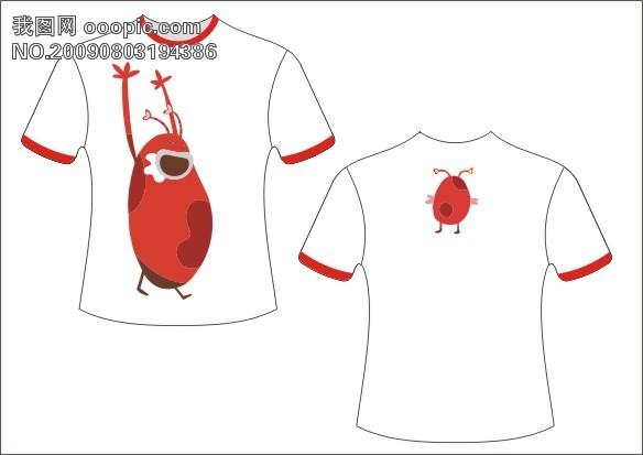 创意t恤设计图片手绘图片
