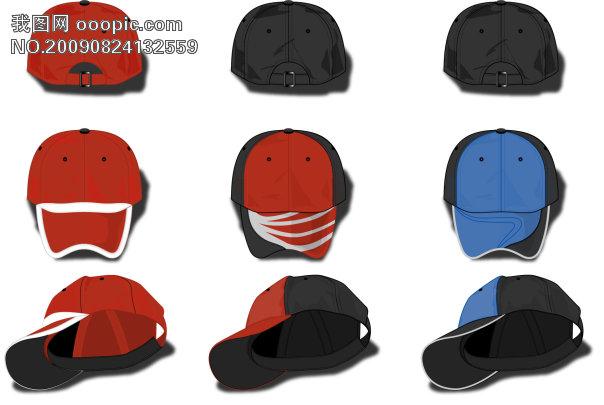 鸭舌帽设计模板模板下载(图片编号:640007)