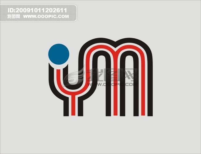 ym字母标志logo