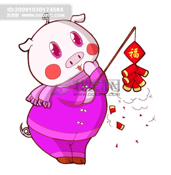 十二生肖猪模板下载(图片编号:724897)