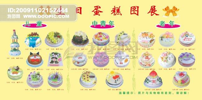 幼儿园小小班彩色画图简笔画生日蛋糕