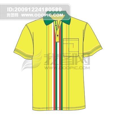 男士商务休闲条纹半袖t恤模板下载 男士商务休闲条纹半袖t恤图片下载
