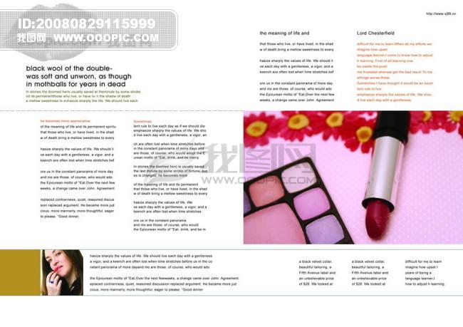 影骑 平面广告psd分层素材源文件 页面 排版 版式 产品 化妆品 打扮图片