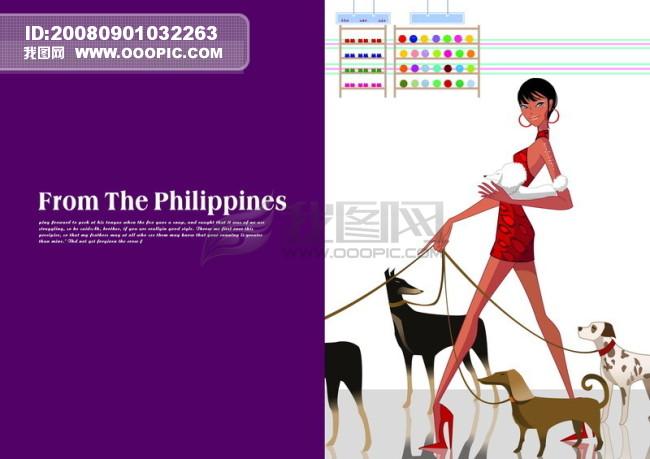 影骑 平面广告psd分层素材源文件 页面 排版 版式 时尚 卡通 可爱
