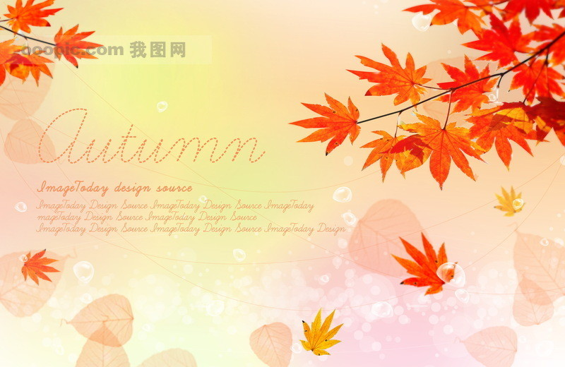 风景ps素材 > 春天夏天秋天风景 浪漫情景 花朵花园树枝