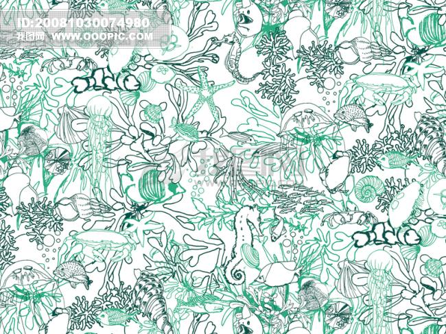 花纹/花纹布匹布料底纹 涂鸦 印刷