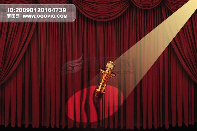 素材 背景图/舞台背景图_晚会舞台设计背景图_节日舞台灯光效果素材