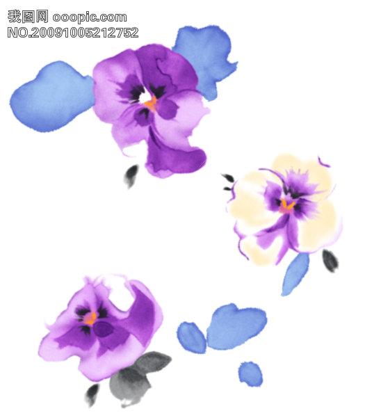 韩国花纹边框34