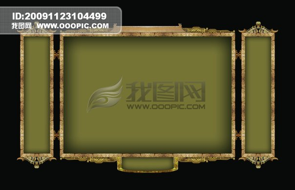 ppt 背景 背景图片 边框 模板 设计 相框 604_390