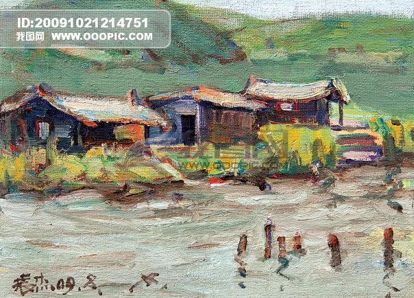风景油画 油画 画家 美术 艺术 艺术文化 中国油画 海南油画风景 海南