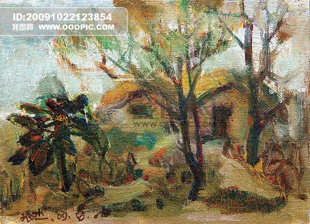 艺术 艺术文化 中国油画 海南油画风景 海南风景 颜色 色彩 美术之家