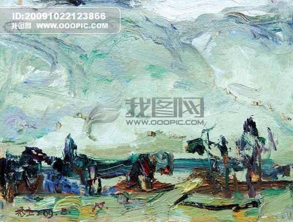 藝術 藝術文化 中國油畫 海南油畫風景 海南風景 顏色 色彩 美術之家